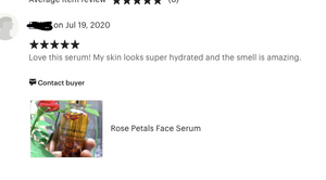 Rose Petals Face Serum