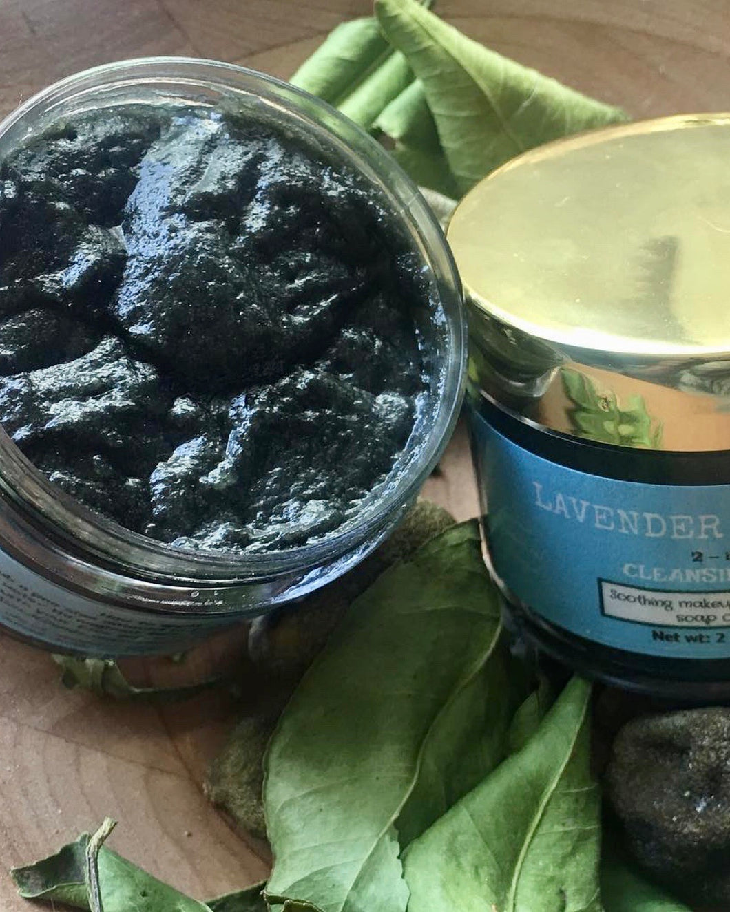 Lavender Charcoal Double Cleansing Soap/Balm