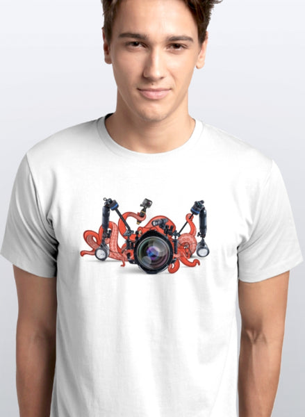Tshirt ABT Octopus - Red