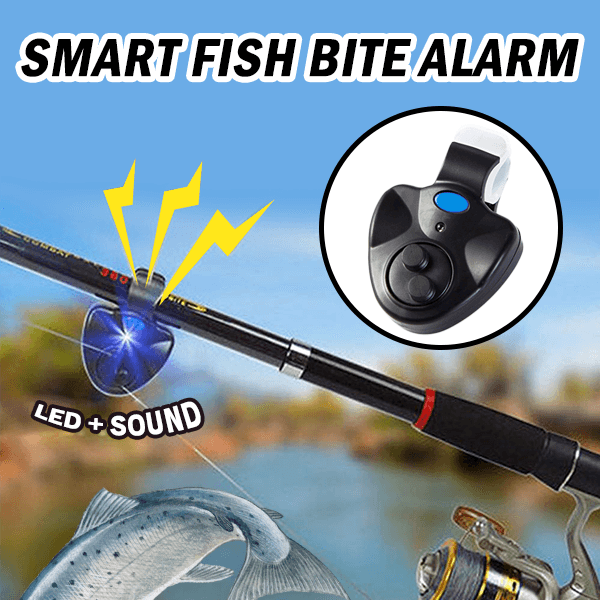 BUY 3 GET 1 FREE-Smart Fish Bite Alarm