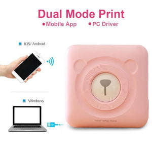 Portable Photo Printer- Free Shipping Worldwide