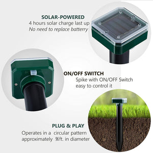 Solar Ultrasonic Repeller