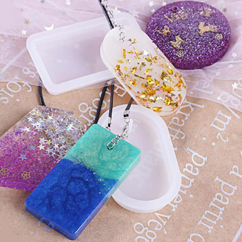Handmade Crystal Glue Mold Set (83 Pcs)