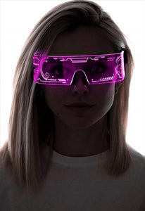 Neon Nightlife LED Light Up Glasses