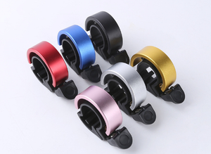 Bike Bell - Original & Luxe Styles, Built in Cable-Clip, Adult/Youth Bicycle Bell