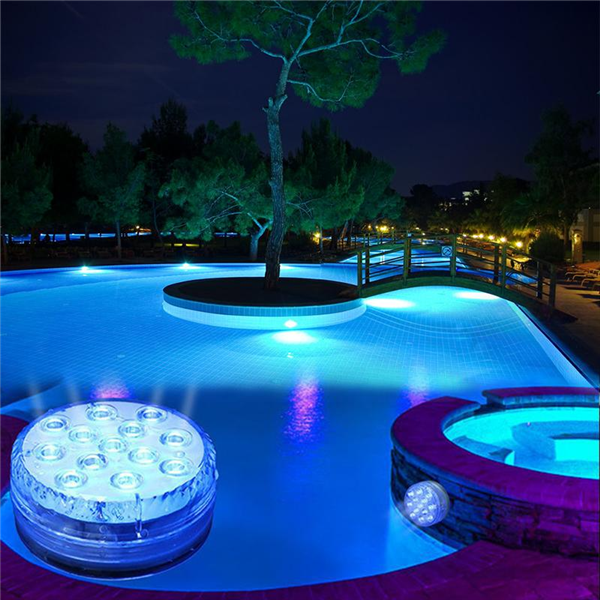 Submersible LED Pool Lights Remote Control