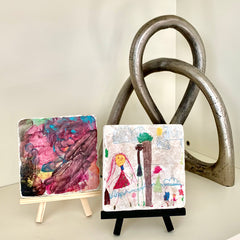 kids art-coaster-stone
