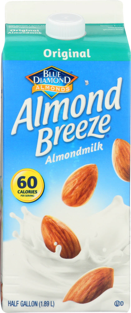 BLUE DIAMOND: Almond Breeze Almondmilk Original, 64 oz