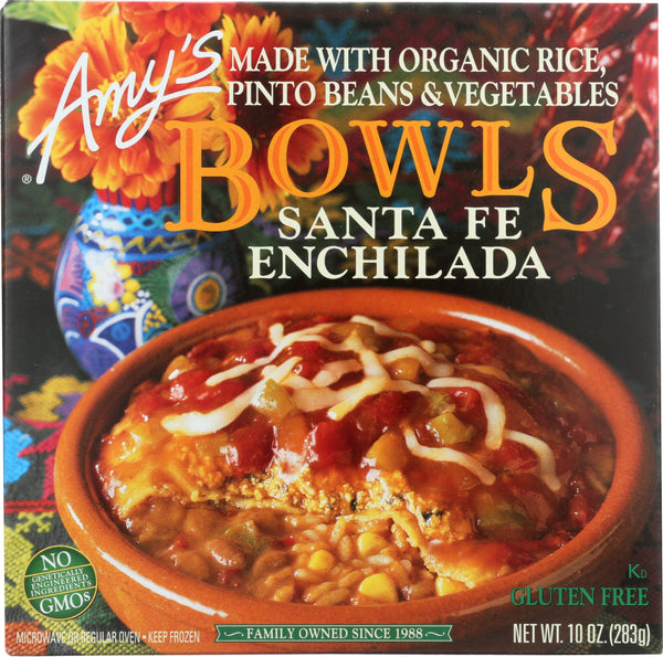 AMY'S: Santa Fe Enchilada Bowl, 10 oz