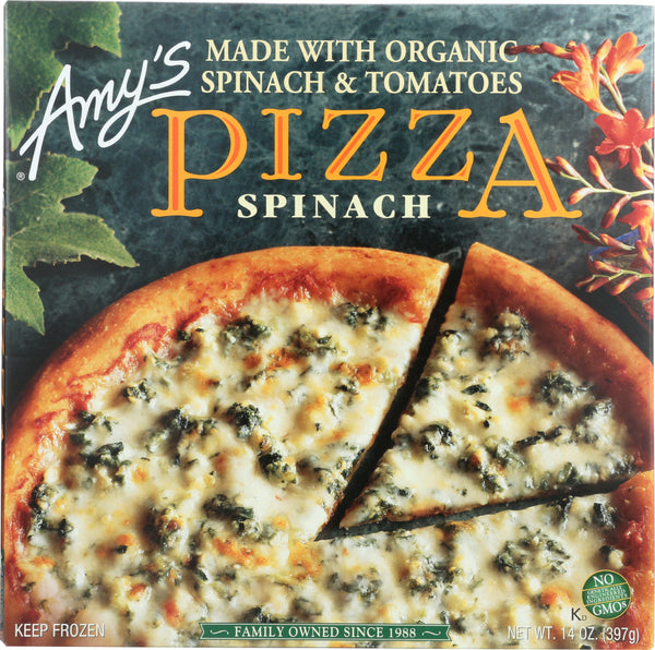 AMY'S: Spinach Pizza, 14 oz