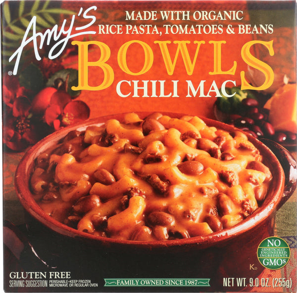 AMYS: Chili Mac Bowl, 9 oz