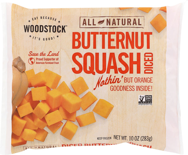 WOODSTOCK: All-Natural Butternut Squash, 10 oz