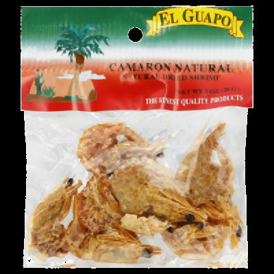 EL GUAPO: Natural Dried Shrimp, 1 oz