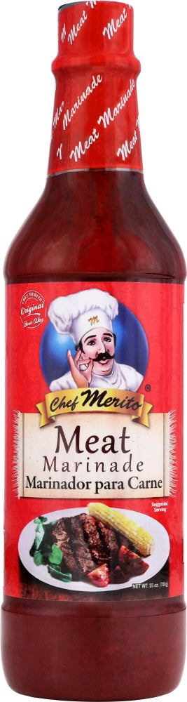 CHEF MERITO: Meat Marinade, 25 oz