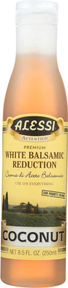 ALESSI: Coconut Balsamic Vinegar Reduction, 8.5 oz