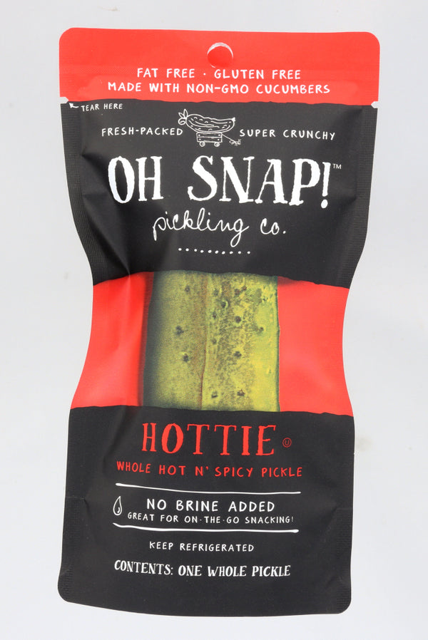 OH SNAP: Hottie Whole Hot & Spicy Pickle, 3 oz