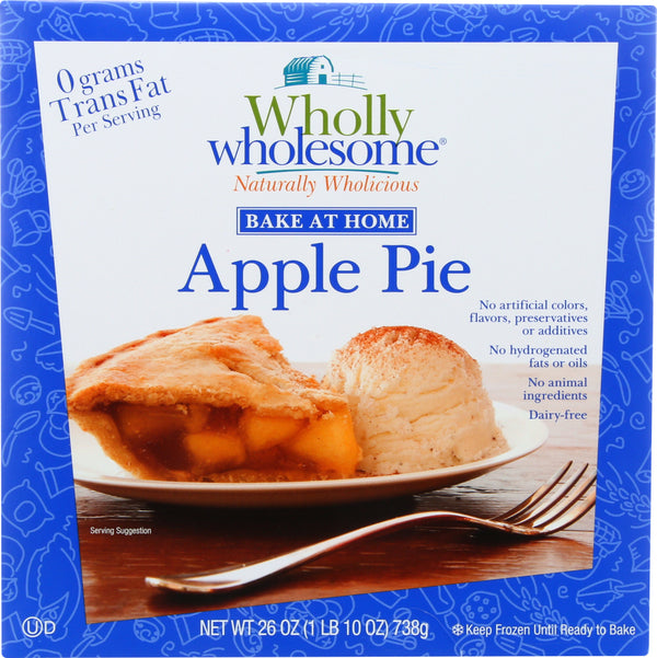 WHOLLY WHOLESOME: Bake at Home Apple Pie, 26 oz