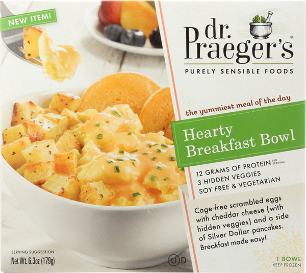 DR PRAEGER: Hearty Breakfast Bowl, 6.3 oz