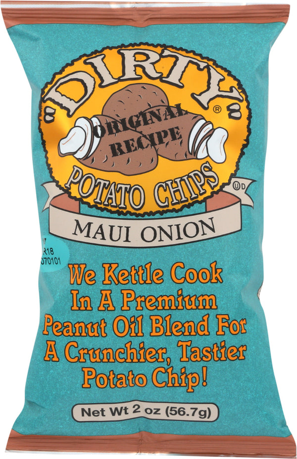 DIRTY POTATO CHIP: Chips Mui Onion, 2 oz