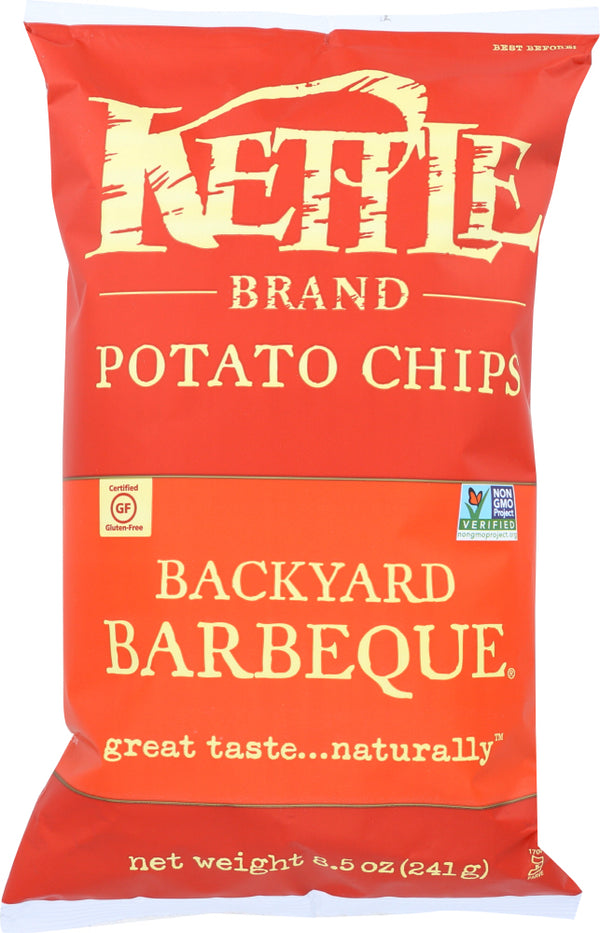KETTLE BRAND: Backyard Barbeque Potato Chips, 8.5 oz