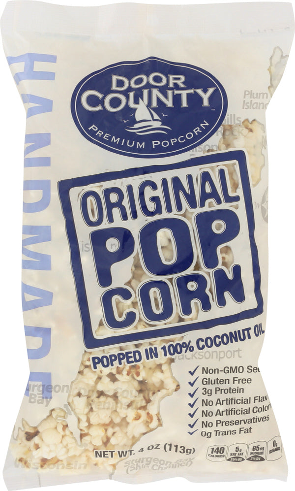 DOOR COUNTY POTATO CHIPS: Popcorn Original, 4 oz
