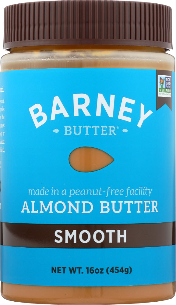BARNEY BUTTER: Almond Butter Smooth, 16 Oz