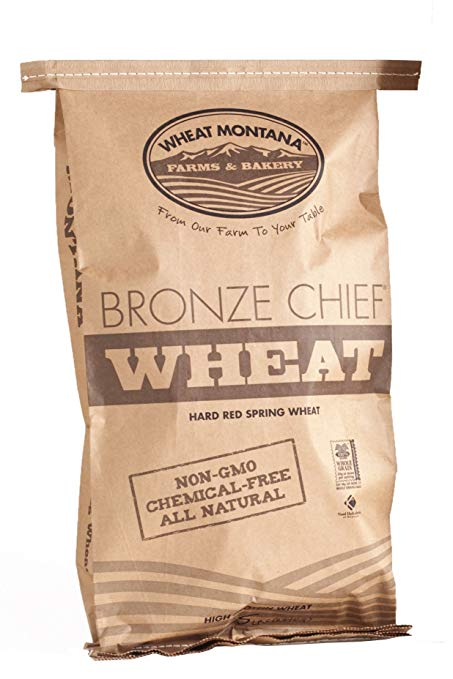 WHEAT MONTANA: Wheat Bronze Chief Red, 25 lb