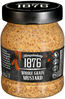 HENGSTENBERG: 1876 Whole Grain Mustard, 9.5 oz