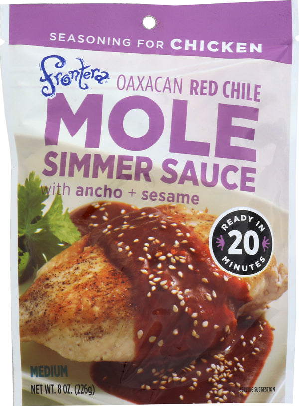 FRONTERA: Red Mole Skillet Sauce, 8 oz