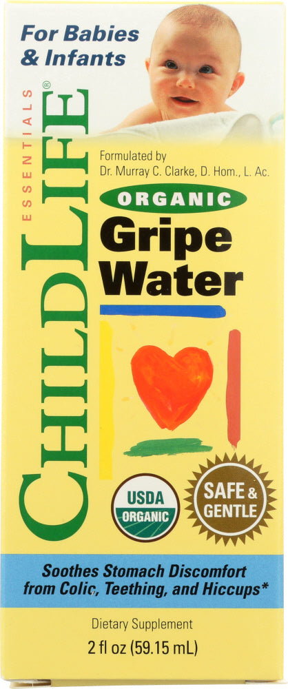 CHILD LIFE: Water Gripe Organic, 2 oz