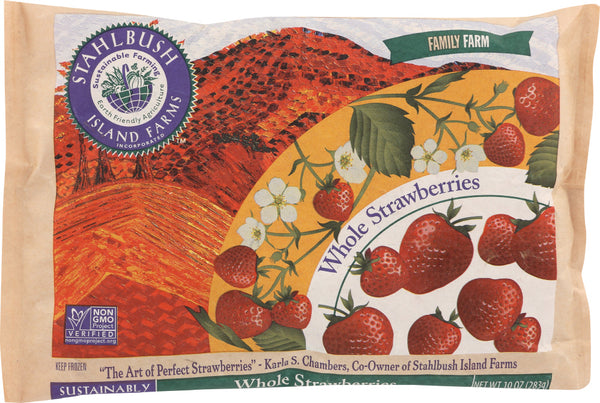 STAHLBUSH ISLAND FARMS: Whole Strawberries, 10 oz