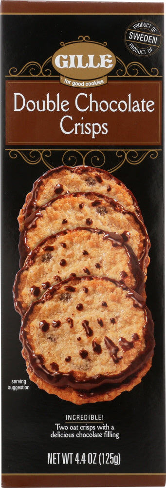 GILLE: Cookie Crisp Double Chocolate, 4.4 oz