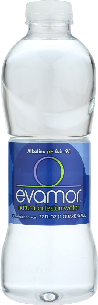 EVAMOR: Natural Artesian Water, 32 oz