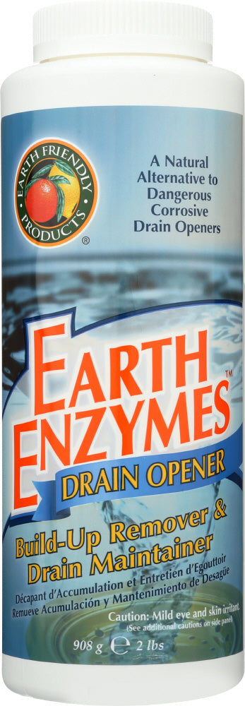 EARTH FRIENDLY: Natural Earth Enzymes Drain Opener, 32 oz