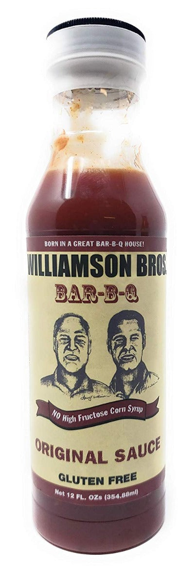 WILLIAMSON BROS: Sauce Bbq Original, 12 oz