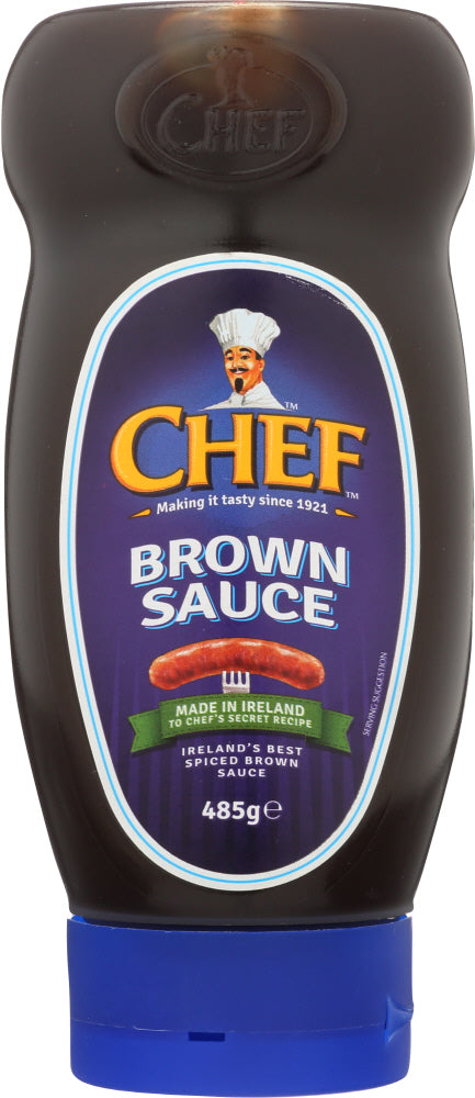 CHEF: Brown Sauce Squeeze, 17.1 oz