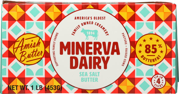 MINERVA: Amish Sea Salt Butter, 1 lb