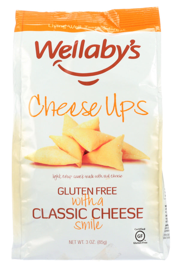 WELLABY'S: Cheese Ups Gluten Free Classic Cheese, 3 oz