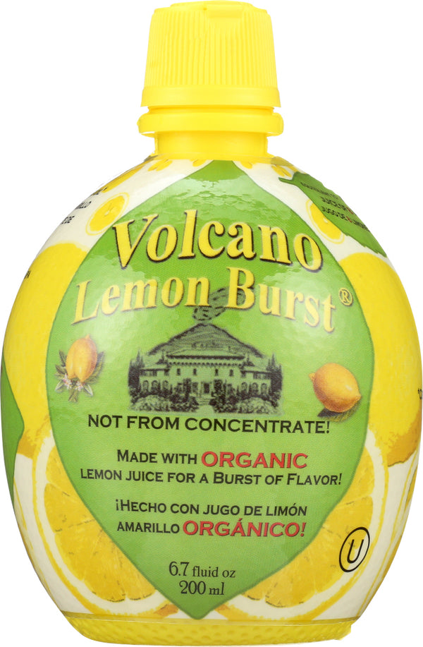 VOLCANO: Delicious Lemon Burst, 6.7 oz