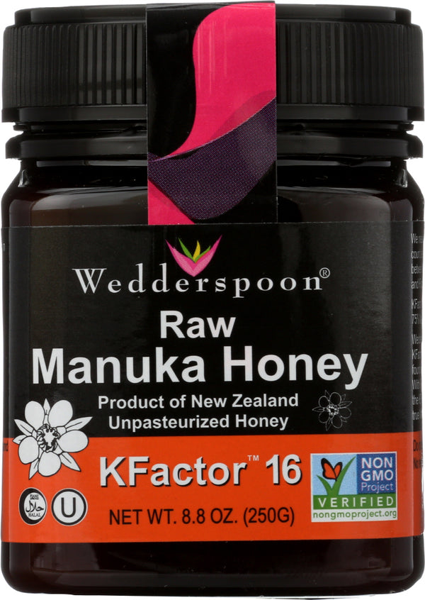 WEDDERSPOON: HONEY RAW MANUKA KFCTR 16 (8.800 OZ)