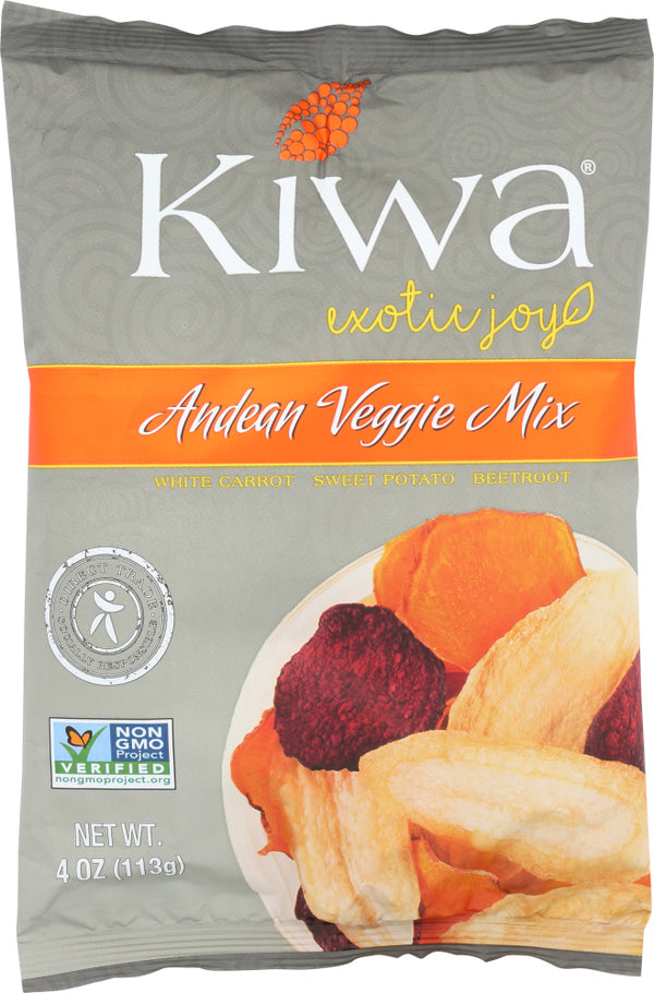KIWA CHIPS: Chip Veggie Andean Mix, 4 oz