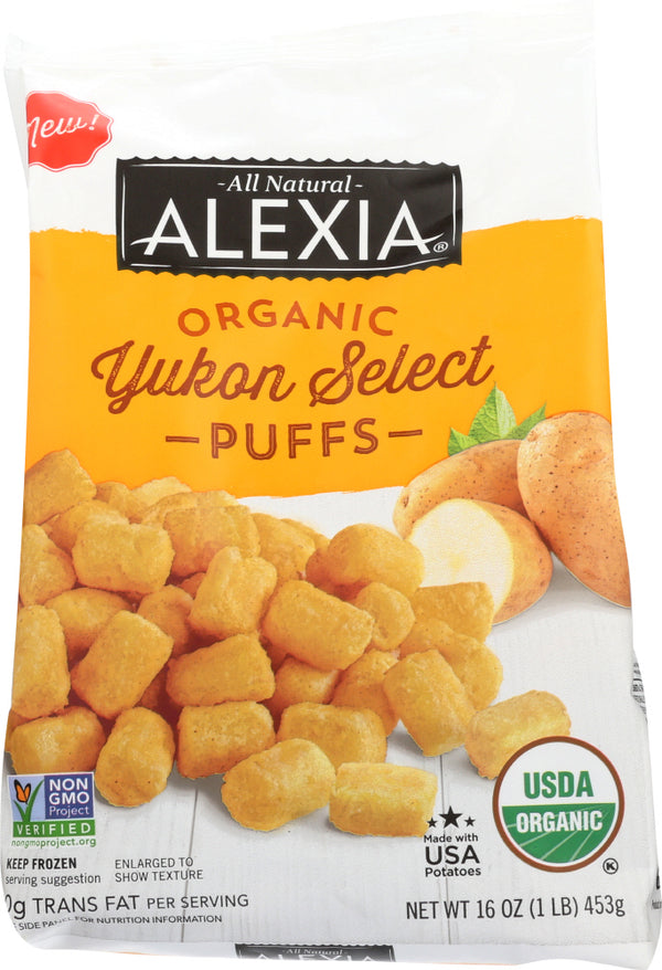 ALEXIA: Potato Puffs Yukon Select, 16 oz