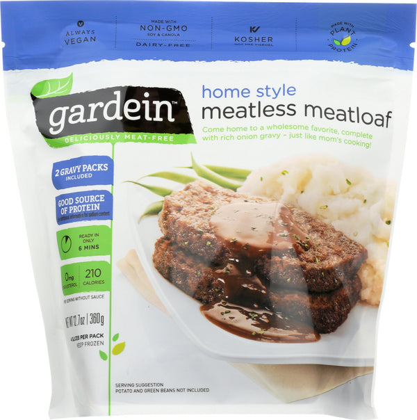 GARDEIN: Meatless Meatloaf, 12.70 oz
