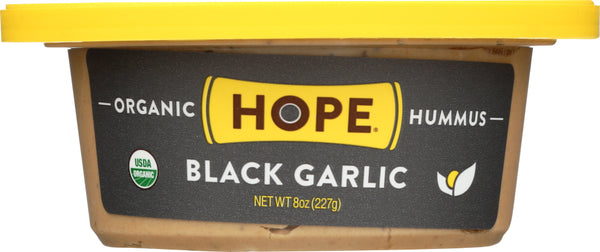 HOPE: Organic Hummus Black Garlic, 8 oz