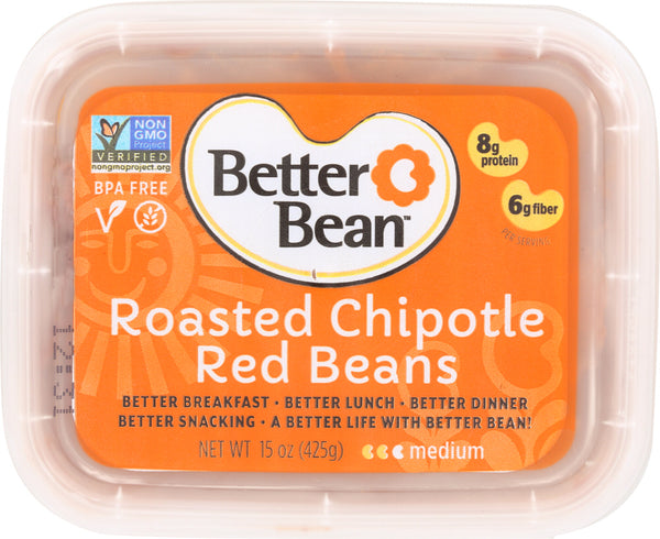 BETTER BEAN: Roasted Chipotle Bean Dip, 15 oz