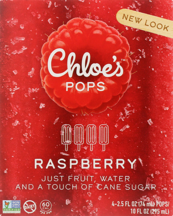 CHLOES: Fruit Pop Raspberry, 10 oz