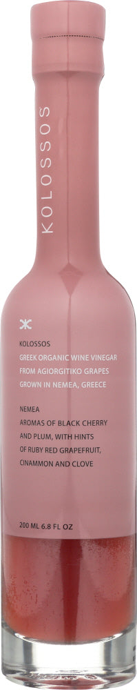 KOLOSSOS: Vinegar Wine Nemea, 6.8 oz