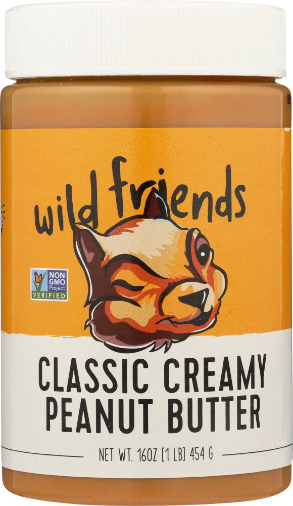 WILD FRIENDS: Peanut Butter Classic Creamy, 16 oz