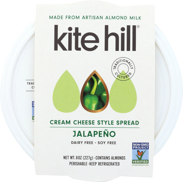KITE HILL: Cream Cheese Jalapeno, 8 oz