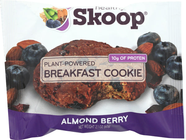 HEALTHY SKOOP: Almond Berry Breakfast Cookie, 2.1 oz